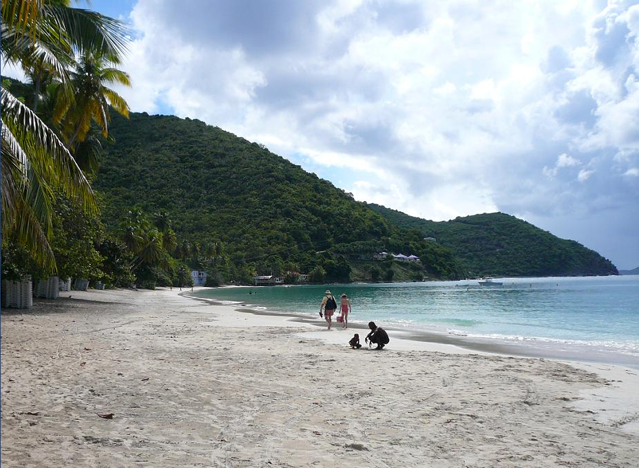 The Virgin Islands, Cane Garden Bay, Tortola, BVI