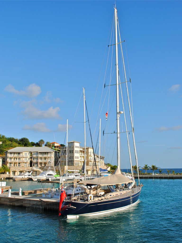 The Virgin Islands, Marina in the BVI