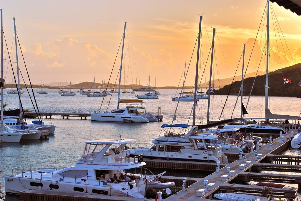 The Virgin Islands, Docked in the BVI