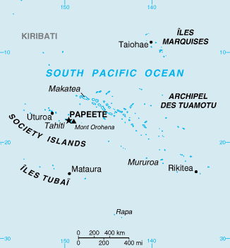 South Pacific luxury yacht charter destination Society Islands, Tahiti