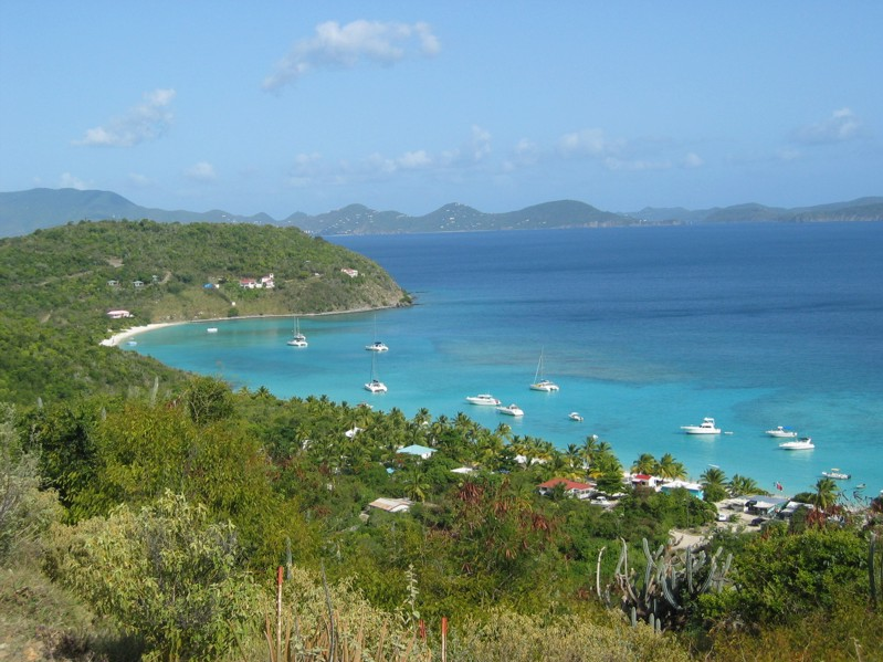 The Virgin Islands, White Bay, Jost Van Dyke