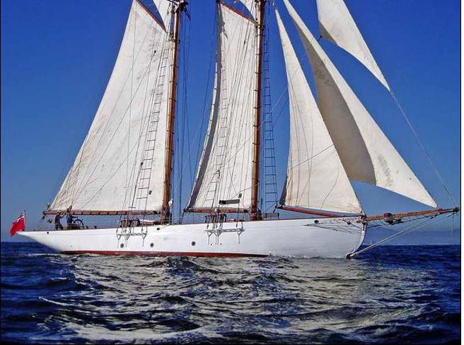 Luxury Sailing Yacht Coral of Cowes Classic Charter Yacht