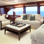 Luxury Charter Yacht Just Enough Salon