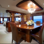 Luxury Charter Yacht Just Enough Dining