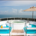 Luxury Charter Yacht Just Enough Flybridge Jacuzzi
