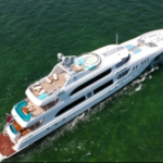 Luxury Charter Yacht Just Enough Aerial Decks
