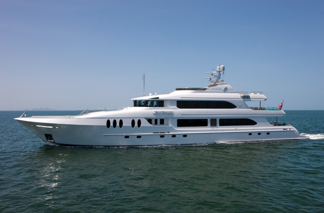 Crewed Luxury Charter Megayacht Just Enough Running