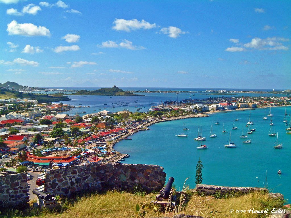 St. Martin Family Yacht Charter Vacation, Fort Louis
