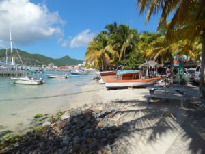 St. Martin Family Yacht Charter Vacation, Philipsburg Boardwalk