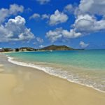 St. Martin Family Yacht Charter Vacation, Grand Case Beach
