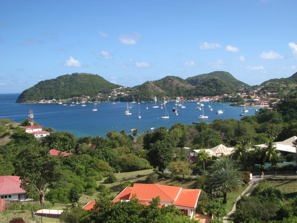 Guadeloupe and Dominica, bay les saintes