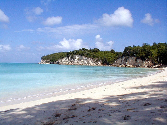 Guadeloupe and Dominica, marie galante beach