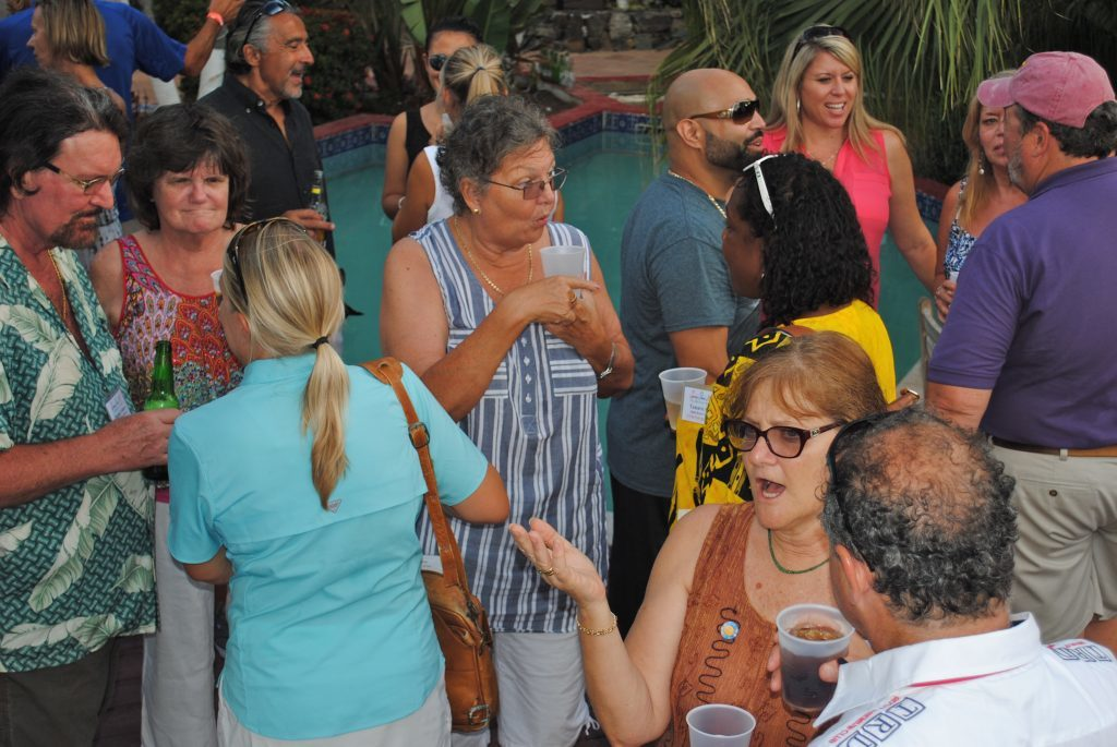 Charter Yacht Show, Tortola, BVI 2015, Village Cay Cocktail Party