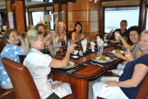 Charter Yacht Show, Antigua Broker luncheon