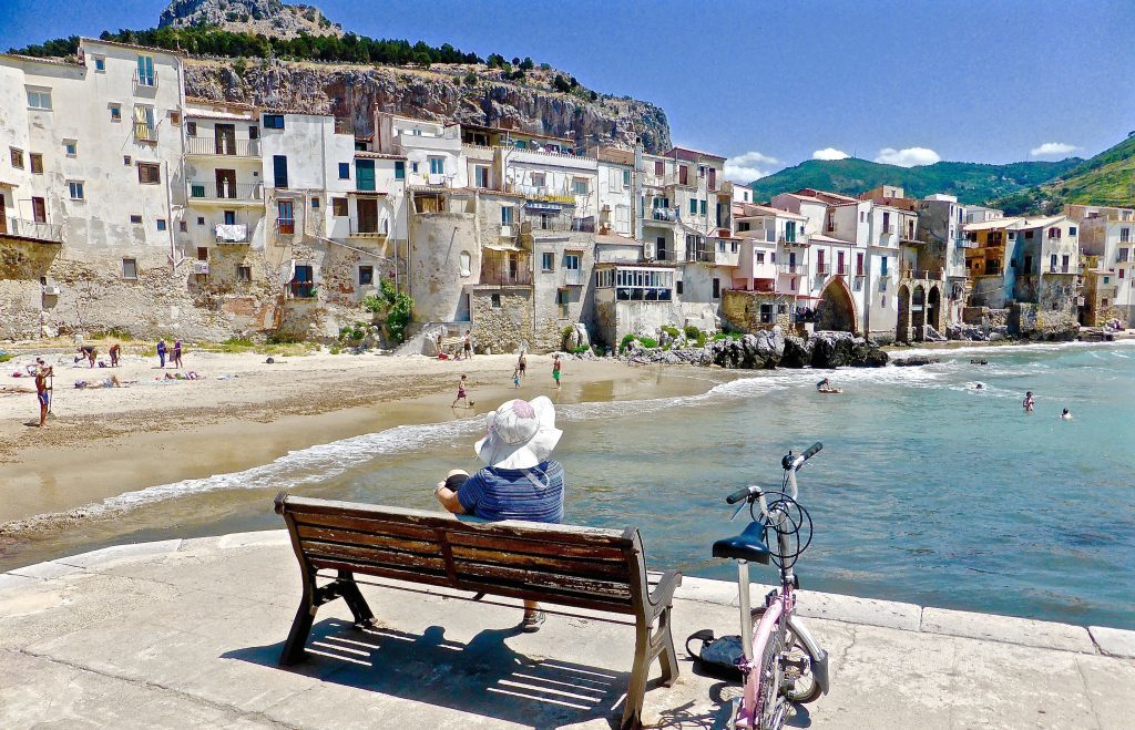 Sicily, Italy, Cefalu, coastal fishing village, private crewed yacht charter