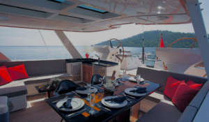Thailand, Silverlining, luxury charter sailing yacht for charter