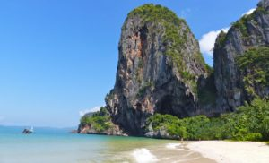 Thailand, Krabi, Spoke Beach, Andaman Sea