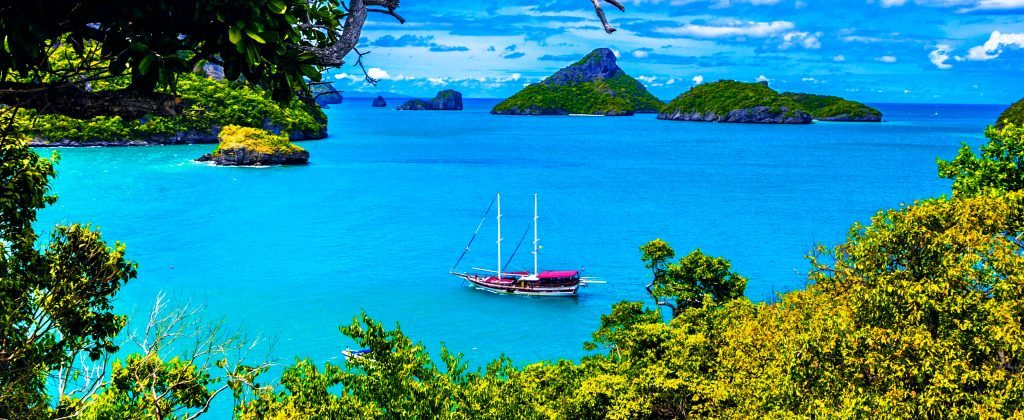 Thailand, private yacht charter gulet