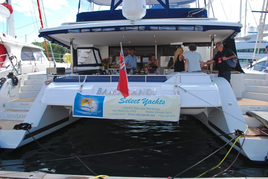 Antigua Charter Yacht Show, private crewed catamaran yacht Bamarandi