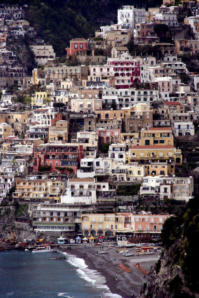 Italy's Amalfi coast, private, crewed yacht charter, Positano
