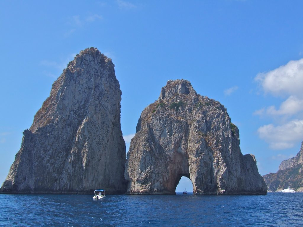 Italy's Amalfi coast, private, crewed yacht charter, Capri